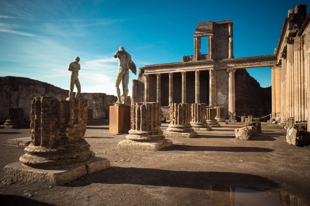 Herculaneum and Pompeii